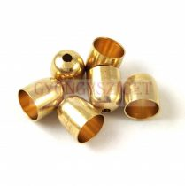 Cord End - Gold Colour - 8mm