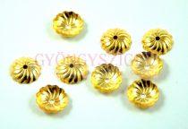 Gyöngykupak - arany színű - 10mm