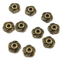 Gyöngykupak - arany színű - Sun - 8mm