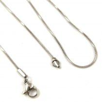 Ékszerlánc - sima - arany színű  - 3 x 2 x 0.6 mm