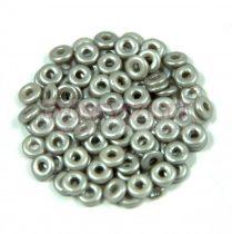 Cseh préselt O gyöngy - O-bead - pastel grey -1x4mm