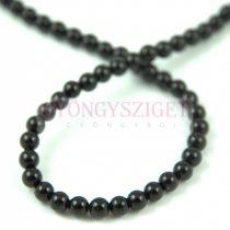 Onyx - round bead - 10mm - strand