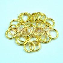 Szerelőkarika - arany színű - 7mm - 270