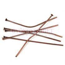 Szerelőpálca - szög - vörösréz színű - 45mm - 50db