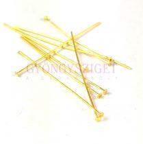 Szerelőpálca - szög - arany színű - 0.7x50mm - 10db