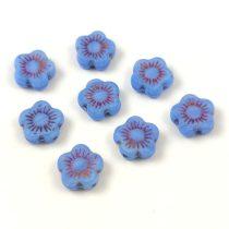 Cseh table cut gyöngy - életfa - hosszában fúrt korong - ivory arany - 13020 - 14mm