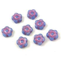 Cseh table cut gyöngy - hosszában fúrt tégla - Jet Gold - 23980-54302 - 13x7mm