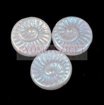 Cseh préselt egyedi formák - Alabaster AB - fosszília - 18mm (02010-28703)