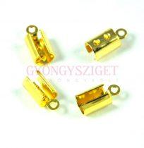 Végzáró - arany színű - 11x5mm