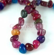 Agate - round bead - dyed mix - 5 - 7 mm - strand - appr. 50pcs
