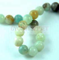 Amazonite - round bead - 8mm - strand
