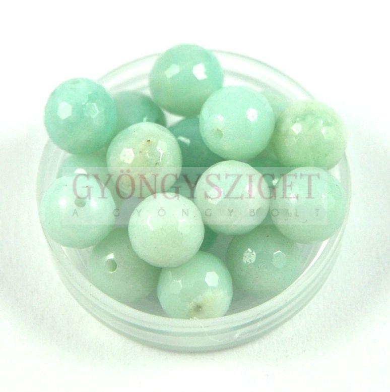 Amazonit csiszolt gyöngy - 8mm Amazonite gyöngyök 13523a58c2