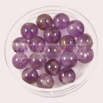 Ametiszt gyöngy -8mm