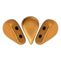 Amos® par Puca®gyöngy - brass gold - 5x8 mm