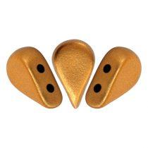 Amos® par Puca®gyöngy - brass gold - 5x8 mm