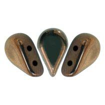 Amos® par Puca®gyöngy - bronz - 5x8 mm