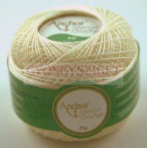 Anchor horgolócérna - 40-es - Cream