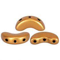Arcos® par Puca®gyöngy - brass gold - 5x10 mm