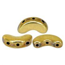 Arcos® par Puca®gyöngy gyöngy - crystal full amber - 5x10 mm