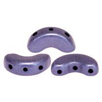 Arcos® par Puca®gyöngy - matte metallic purple - 5x10 mm