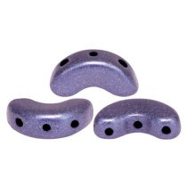 Arcos® par Puca®gyöngy - matte metallic purple - 5x10 mm
