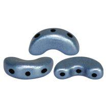 Arcos® par Puca®gyöngy - matte metallic blue - 5x10 mm