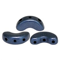 Arcos® par Puca®gyöngy - matte metallic dark blue - 5x10 mm