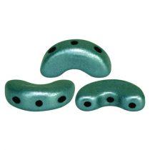 Arcos® par Puca®gyöngy - polichrome aqua teal - 5x10 mm