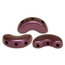 Arcos® par Puca®gyöngy - polichrome copper red - 5x10 mm