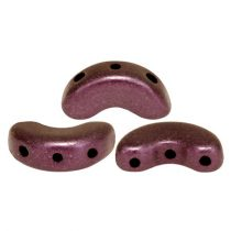 Arcos® par Puca®gyöngy - polichrome copper red - 5x10 mm