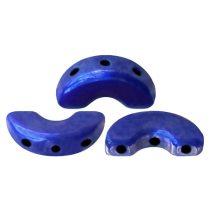Arcos® par Puca®gyöngy - Opaque Sapphire Luster - 5x10 mm
