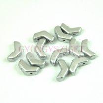 Arrow - cseh kétlyukú gyöngy - Aluminium - 5x8mm