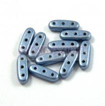 Czech Mates Beam - háromlyukú hasáb  - Saturated Metallic Airy Blue  - 3x10mm