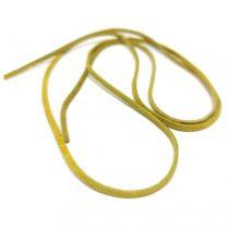 Bőrszál - lapos - yellow - 2-3mm - 70-73cm