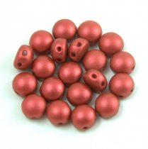Candy - Cseh préselt kétlyukú gyöngy - Lavared - 8mm