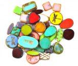 Czech Glass Table Cut Beads