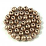 Préselt golyó gyöngyök - 4 mm