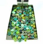Czech Multi Hole Pressed Beads