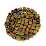 Miyuki kocka alakú gyöngyök - 3 mm