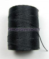 C-lon Beading Therad - fekete - 0,5mm