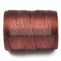 C-lon Beading Therad - brown - 0,5mm