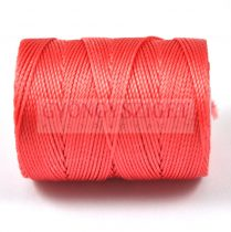C-lon Beading Therad - chinese coral - 0,5mm
