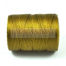 C-lon Beading Therad - golden olive - 0,5mm