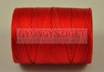 C-lon Beading Therad - shanghai red - 0,5mm