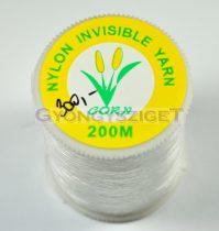 Corn invisible yarn - monofil szál sujtáshoz - 200m