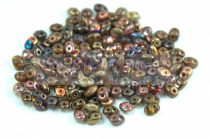 Czech mixed Duo beads - Bronz - 10g