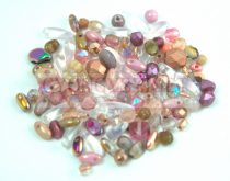 Czech mixed beads - Pink - 10g
