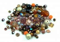 Czech mixed beads - Bronz - 10g