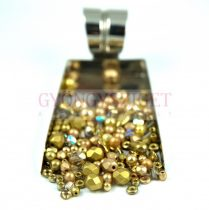 Czech mixed beads - Gold - 10g