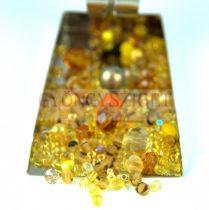 Czech mixed beads - yellow - 10g